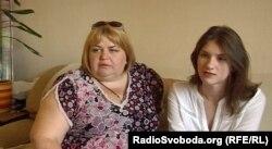 Донецька випускниця Аліса та її мати Олена