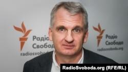 АҚШ тарихшысы, Йель университетінің профессоры Тимоти Снайдер. Киев, 27 қыркүйек 2016 жыл.