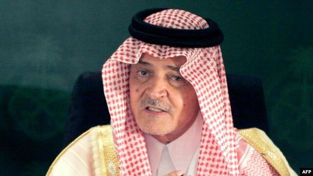 سعود الفیصل، وزیر امور خارجه عربستان