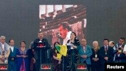 Թուրքիա - Դիարբեքիրում հրապարակվում է Աբդուլա Օջալանի ուղերձը, 21–ը մարտի, 2013թ.