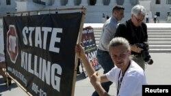 Акция против смертной казни в США