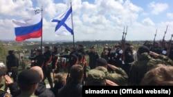 Церемония прощания с Сергеем Бордовым, Севастополь, апрель 2017 года