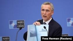 Secretarul general al NATO prezintă raportul anual