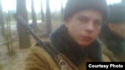 Міхаіл Бяўзюк падчас службы ў войску