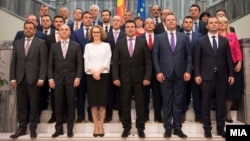 Групна фотографија на новата влада на 31 мај