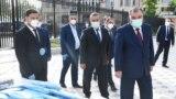Президент Раҳмон дар маросими боз шудани коллеҷи тиббии Бохтар, 28 майи соли 2020