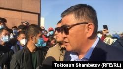 Камчыбек Ташиев, УКМКнын төрагасы.