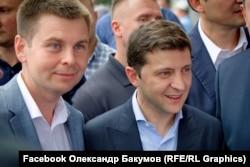 На 171-му окрузі найбільшу кількість голосів «зібрав» Олександр Бакумов (л)