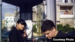 هاتف عمومي في إقليم كردستان العراق