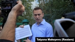 Russian opposition leader Aleksei Navalny