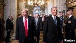 Трамп жана Обама инагурация алдында. Вашингтон, 20-январь, 2017-жыл.