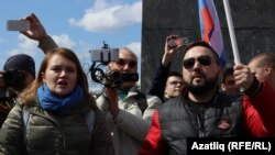 Лилия Чанышева һәм Федор Телин