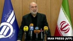 Руководитель Организации гражданской авиации Ирана Али Абедзаде. Тегеран, 10 января 2020 года.