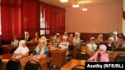 Самар татар балалары мөселманча ял итте