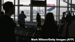 Një aeroplan i kompanisë British Airways