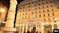 """Случајот """"Талир 2"""" се однесува на изградбата на седиштето на ВМРО-ДПМНЕ во центарот на Скопје."""