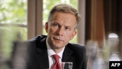 The governor of Latvia's Central Bank Ilmars Rimsevics (file photo)