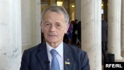 Crimean Tatar activist Mustafa Dzhemilev