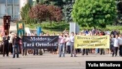 Proteste ale Bisericii Ortodoxe în 2009
