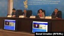 Kazakhstan – Gulzhikhan Bimendina, ( C ) Kazakhstan national economy official. Atyrau, 20Apr2016