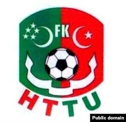 HTTU futbol toparynyň emblemasy