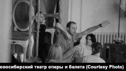 Під час репетиції постановки «Тангейзера» в Новосибірському театрі, архівне фото