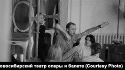 """Репетиция оперы """"Тангейзер"""" в Новосибирском театре оперы и балета"""