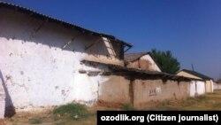 Здание специализированной школы №14 в Яккабагском районе Кашкадарьинской области Узбекистана.