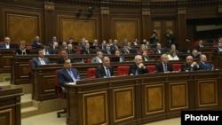 Фракция РПА на заседании парламента (архив)
