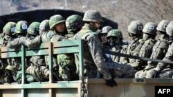 Јужнокорејски војници.