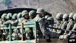 Sjeverokorejski vojnici