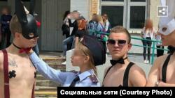 День самоуправления в школе Владивостока
