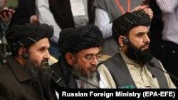 """""""Талибан"""" кыймылынын расмий өкүлдөрү"""