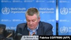 Директорот на Светската здравствена организација за итни случаи Мајкл Рајан