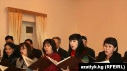 Асанкан Жумакматов атындагы камералык хор