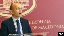 Архивска фотографија- министерот за финансии Драган Тевдовски