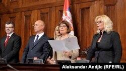 Gojković objavila pauzu u radu Skupštine Srbije sve do završetka izbornog procesa