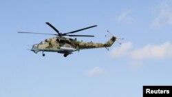 Российский военный вертолет Ми-24 (архив)