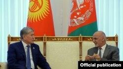 Алмазбек Атамбаев менен Ашраф Гани.