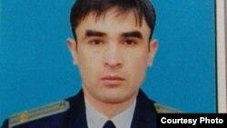 Nafaqadagi podpolkovnik Ikromjon Kuldashev.