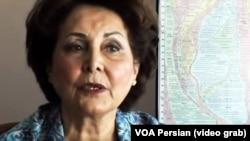 منصوره پیرنیا در مستند «فراز و فرود زندگی یک ملکه» از صدای آمریکا