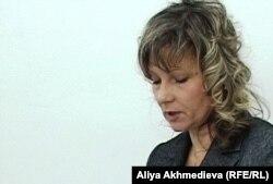 Елена Бурлуцкая, представитель гражданского активиста, подавшего иск против полиции Талдыкоргана.