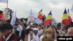 Piața Victoriei, București, 9 iunie 2018.