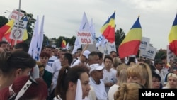 Miting PSD, Piața Victoriei, București, 9 iunie 2018