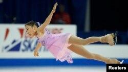 Қазақстандық спортшы Элизабет Тұрсынбаева.