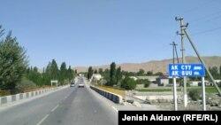 Кыргызское село Ак-Сай на границе с Таджикистаном. 25 июля 2019 года.