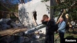 Ситуация в Донецке, октябрь 2014