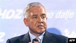 Croatian Prime Minister Ivo Sanader