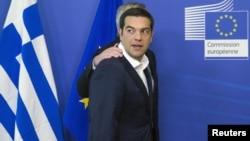 Грециянын премьер-министри Ципрас чечүүчү саммит алдында. Брюссель, 22-июнь, 2015