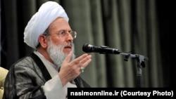 Former intelligence minister, Mohammad Reyshahri, undated.